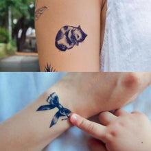 Load image into Gallery viewer, Blue Tattoo Set H - LAZY DUO TATTOO
