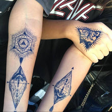 Load image into Gallery viewer, Blue Tattoo Set I - LAZY DUO TATTOO