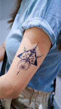 Load image into Gallery viewer, Tribal Arrow Moon Mystery Eye Tattoo - LAZY DUO TATTOO