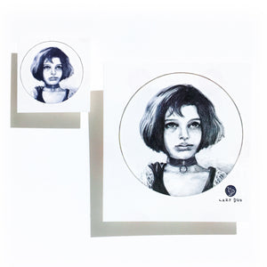 Leon the Professional・Mathilda Tattoo - LAZY DUO TATTOO