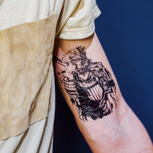 Man Tsang・Monkey King - LAZY DUO TATTOO