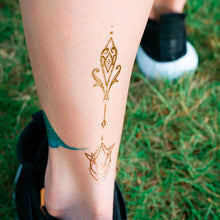 Load image into Gallery viewer, Boho Gold Ornamental Tattoo Set - LAZY DUO TATTOO