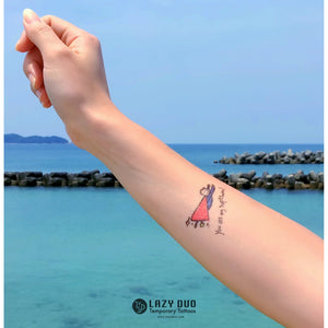 J05・Childish Tattoos Set - LAZY DUO TATTOO