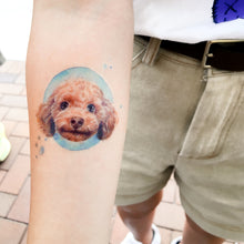 Load image into Gallery viewer, Poodle Doggie Tattoos - LAZY DUO TATTOO