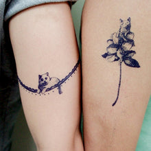 Load image into Gallery viewer, Lazy Cat Band Tattoo - LAZY DUO TATTOO