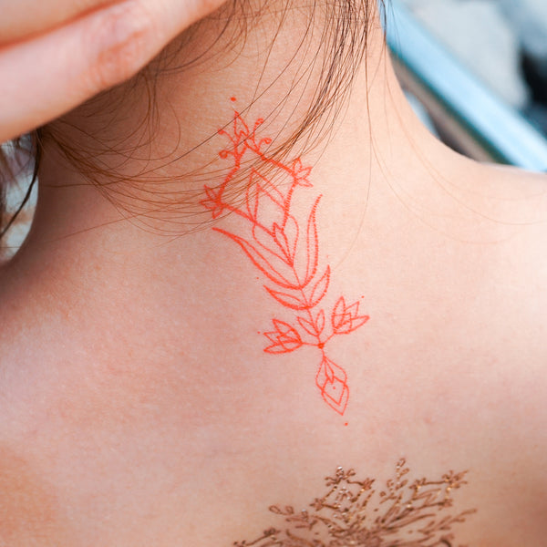 Tropical Bohemian Tattoo Flash Boho Gold Tattoo Sticker Ornamental Temporary Tattoos LAZY DUO Hong Kong HK Tattoo Shop Tattooist Tattoo Artist Tattooer  Mane Ink