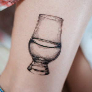 Whisky Therapy Tattoo - LAZY DUO TATTOO