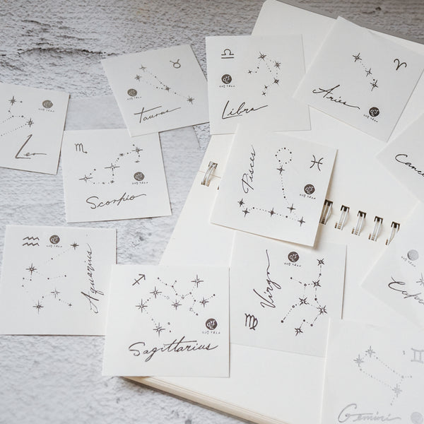 VIRGO TATTOO Minimal Zodiac Sign Tattoos tidy industrious calm a keen intelligence Silver Metallic Tattoos UV Tattoo Sticker Zodiac Symbol Tattoos Minimal Tattoos LAZY DUO Realistic Temporary Tattoo HK Hong Kong 處女座紋身星座刺青香港紋身店 Mane Ink Manyeee Tattoo