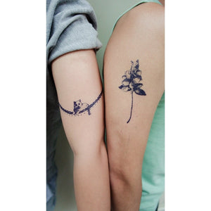 Blue Tattoo Set D - LAZY DUO TATTOO
