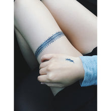 Load image into Gallery viewer, Blue Tattoo Set C - LAZY DUO TATTOO