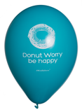 Donut Worry Be Happy | Blue | Balloons | WinkBalloons | Sydney | Delivery | Online