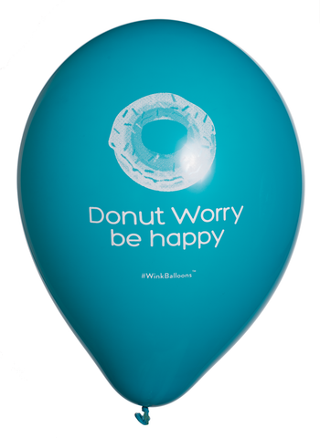 Donut Worry Be Happy - Balloon - Delivered*