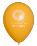 Donut Worry Be Happy|Balloons|Yellow|WinkBalloons|Sydney|Delivered|Online