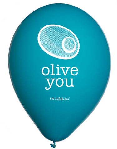 Olive You - Balloons Bouquet - Delivered*