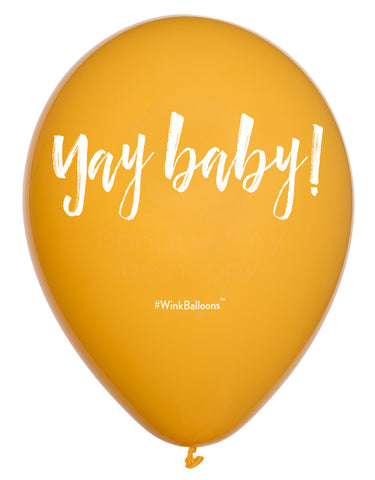 Yay Baby - Balloon - Delivered*