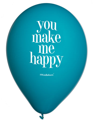 You Make Me Happy - Balloon Bouquet - Delivered*