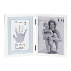 Baby hand print framed Mommy's Sunshine
