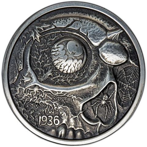 Nightmares of the Fall 1oz Antique Silver Coin