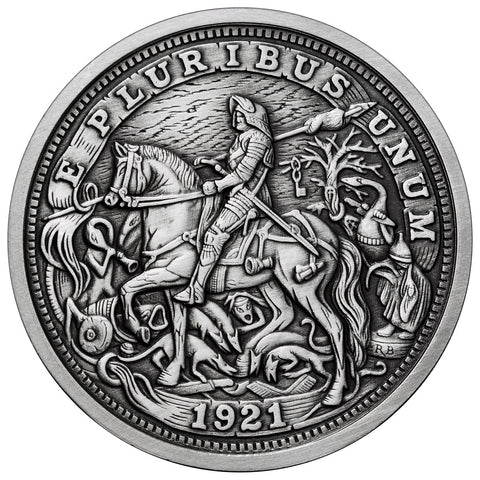 Durer's Knight - Silver Hobo Nickel