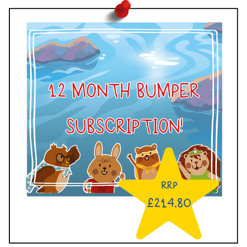 12 Month - Monthly Bumper Box