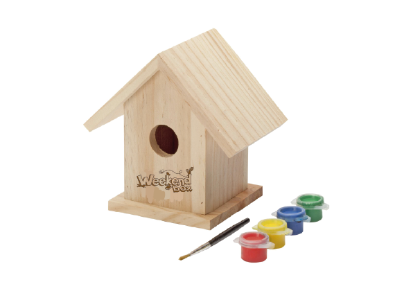 Paint Your Own Bird House!