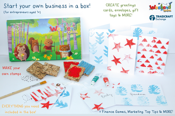 Business Builder Boxes (Ages 7+) FREE DELIVERY USING PROMO CODE - ENTERPRISE