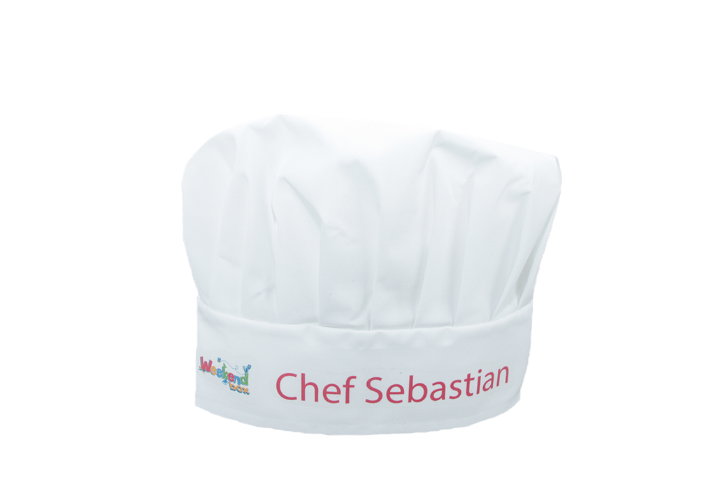 Weekend Box Chef's Hat (+FREE Personalisation)