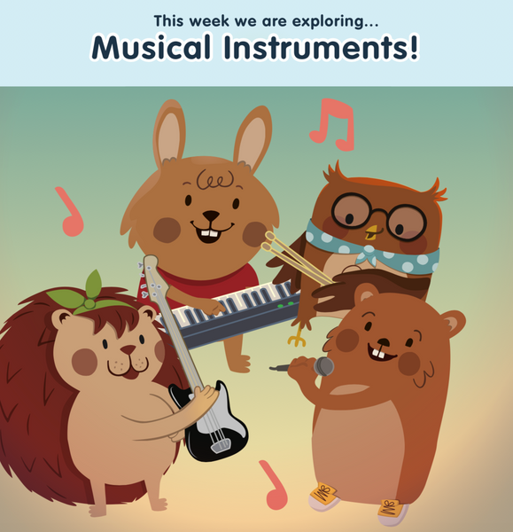 Musical Instruments Bumper Box