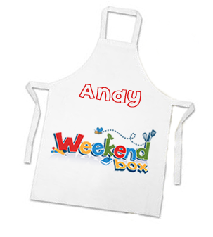 Weekend Box Apron (+ FREE Personalised Name)