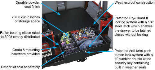 Rear Cargo Security Drawer