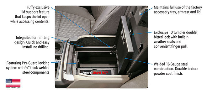 Ford F-Series Security Console Insert