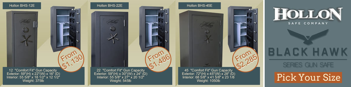 Choose Your Black Hawk Series Safe Size