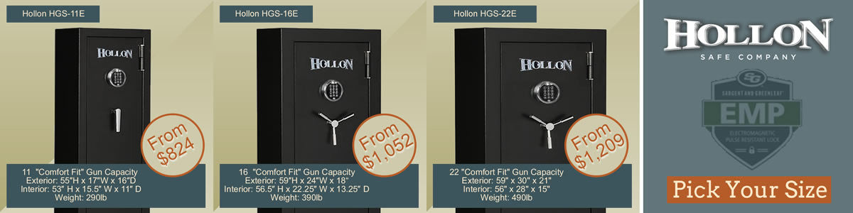 Hollon Hunter Series Gun Safes