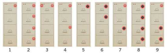 Lock Options for File cabinets