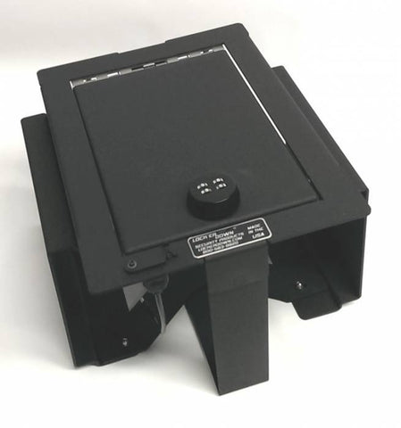 Lock'er Down Safes LD2026 - Full Floor Console Safe - Ford F150 2009-2012 - Raptor Platinum