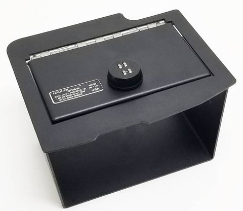 Lock'er Down Safes LD2028CD - Console Safe (with CD Player) 2013-2018 Dodge Ram 1500, 2500 & 3500