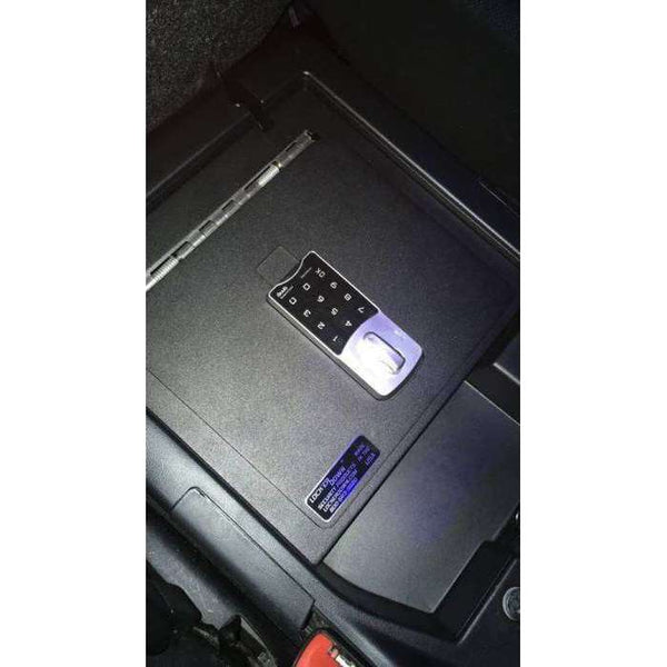 Lock'er Down Safes - Console Safe 2007 - 2020 Toyota Tundra with Split Bench Seat LD2049EX
