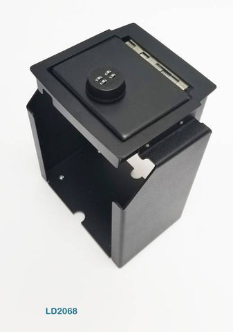 Lock'er Down Safes - Console Safe 2011 to 2018 Jeep Wrangler JK - Model LD2068
