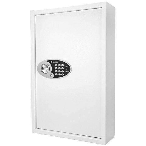 Barska 144 Key Keypad Wall Key Safe - AX12660: Key Return Drop Slot