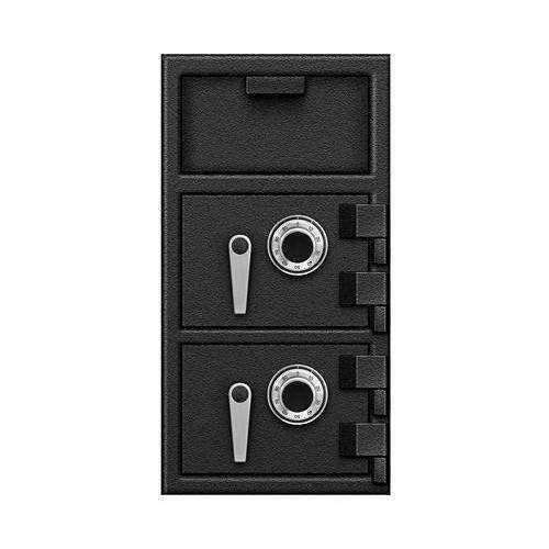 Bluedot FLH271414DD - B-Rated Depository Safe with Front Load Hopper 27 X 14 X 14