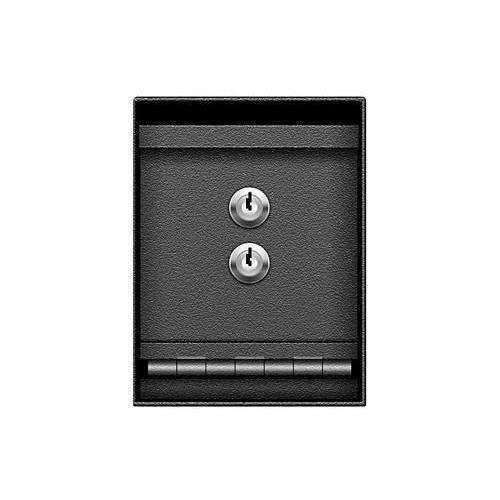 Bluedot MS2K - Under Counter Drop Box Safe 8 x 6 x 12