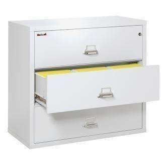 Fire Files 3-4422-C - Lateral Fireproof File Cabinets - 3 Drawer 1 Hour Fire Rating
