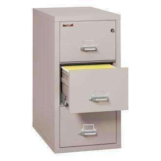Fire King 3-1831-C  Vertical 1 Hour Fire Rated File Cabinets - 3 Drawer