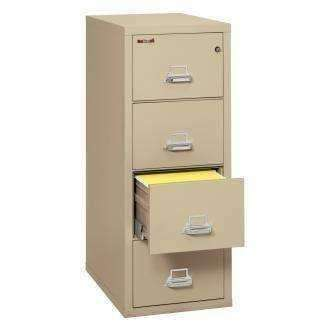 Fire King 4-1831-C Vertical 1 Hour Fire Rated File Cabinets - 4 Drawer