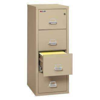 FireKing 25 - 4-1825-C: 1 Hour Fire Rating - 4 Drawer