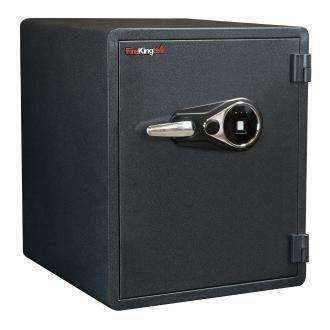 FireKing Business Class Biometric Lock One-Hour Rated Fire Safes - KY1915-1GRFL