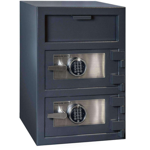 Hollon FDD-3020EE Double Door Security Drop-Boxes & Safes