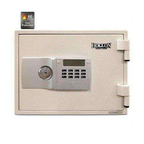 Hollon FS-300E 1-Hour Fire Rated Home Safe - White