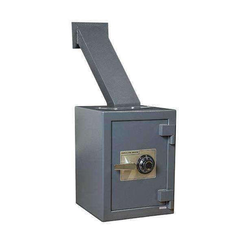 Hollon TTW-2015C - Through the Wall Depository Safes with Dial Lock