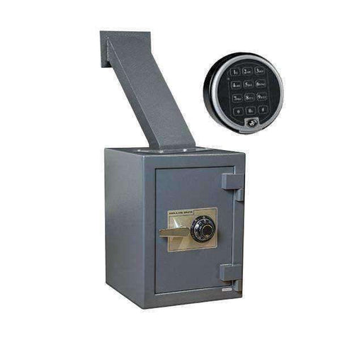 Hollon TTW-2015E - Through the Wall Depository Safes with Electronic Lock